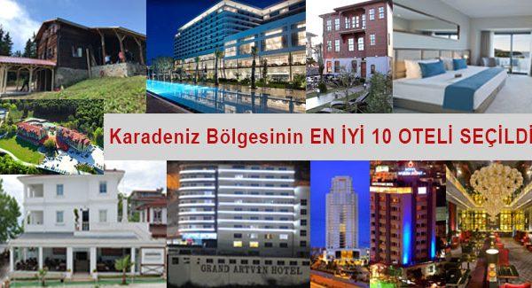 Hürriyet Seyehat Karadeniz'in en iyi 10 otelini Belirledi