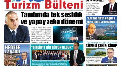 Karadeniz Turizm Bülteni 3 Sayısına Merhaba Dedi