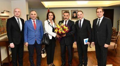 Turizmcilerden Samsun Valisi'ne Turizm Haftası Ziyareti