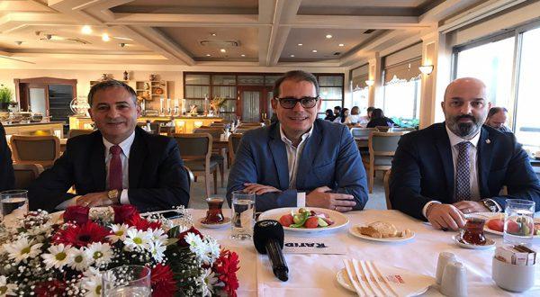 KATİD Başkanı Toktaş Türkiye Turizm Tanıtım ve Geliştirme Ajansı'na adaylığını Trabzon'dan açıkladı