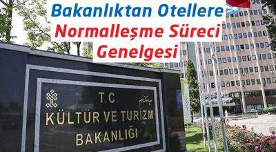 KONAKLAMA TESİSLERİ İÇİN PANDEMİ TEDBİRLER GENELGESİ YAYINLANDI